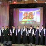 В 95-ю годовщину Октябрьской революции Сенненский районный хор ветеранов отпраздновал 25-летие