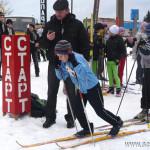 В парке 40-летия Победы в Сенно прошла традиционная новогодняя лыжная гонка