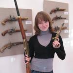 Под дулом оружейного искусства. В Сенненском краеведческом музеи продают оружие!