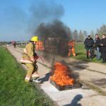Лучшими пожарными признан сенненцы