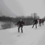 Навстречу прошлому на лыжах. Воспитанники Сенненской школы-интернат необычным способом изучали историю родного края.