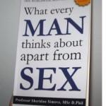Книга «О чем мужчины думают помимо секса» не содержит ни слова