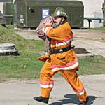 """Главный пожарный района: """"… на Сенненшчыне нужно подумать о создании специализированной бригады пячнікоў…"""""""