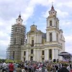 Сенненскія католики звяршылі паломничество к Матери Божьей Будславской