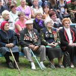 Родину и погоду не выбирают.В День Независимости 3 июля над Сенненшчынай гремели грозы, шел дождь.