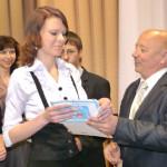 В Сенно наградили талантливых вучнёўцаў и их родителей