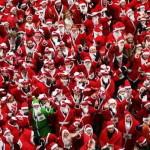 Американские Санта-Клаусы хотят поставить мировой рекорд