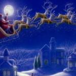 Сегодня Санта-Клаус вылетает с Полюса разносить подарки