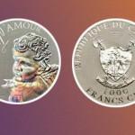 К Дню святого Валентина Ощадбанк выпустил монету «Ангел любви». ФОТО