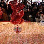 В Севастополе испекли 240-килограммовую валентинку