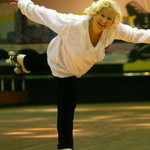83-летняя британка на роликах снялась в телерекламе