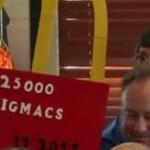 Американец съел 25 тысяч гамбургеров