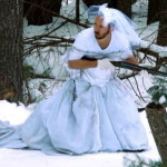 Платье экс-супруги американец использовал вместо дуршлага для макарон