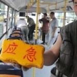 Китайцы укомплектовали автобусы кирпичами