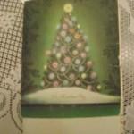 Рождественская открытка путешествовала 61 год