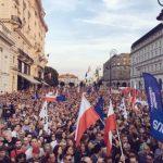 100 тысяч поляков вышли на демонстрации против судебной реформы