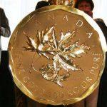 В Германии воры украли 100-килограммовую монету