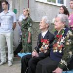 К 100-летнему юбилею Александра Клячына на доме, где он живет, сенненскія коммунисты установили памятную доску