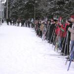 В Сенно прошел лыжный масс-старт