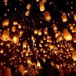 Мода на китайские фонарики долетела до Луцка