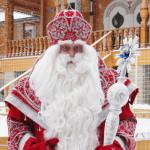 Дед Мороз из Великого Устюга приехал в Томск, чтобы поздравить жителей города и исполнить самые заветные желания